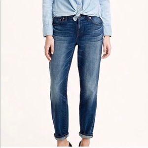 J. Crew Women's Broken In Boyfriend Jeans Size 25